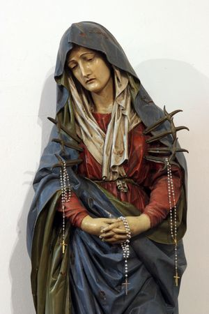 mary and jesus: Our Lady of Sorrows Editorial