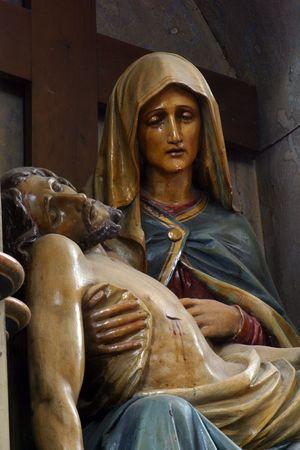 our lady of sorrows: Pieta