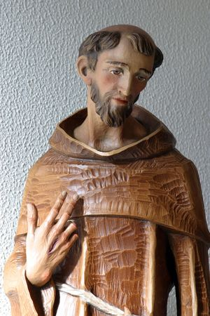 francis: Saint Francis of Assisi statue