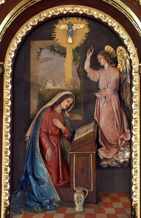iconography: The Annunciation