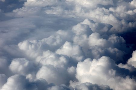 Photo of clouds from plane Stock Photo - 6196026