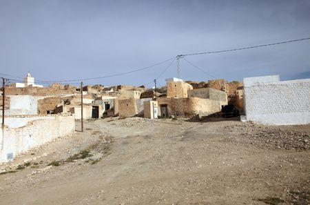 matmata: An Arab village of Matmata in Southern Tunisia in Africa Stock Photo