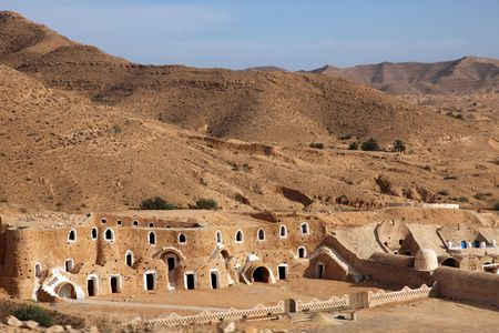 Bedouin house in Tunisia