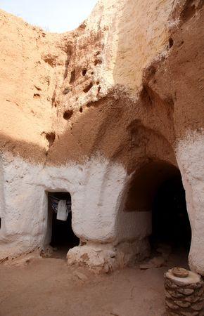 matmata: Residential caves of troglodyte in Matmata, Tunisia, Africa