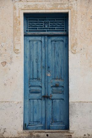 An oriental entrance door photo