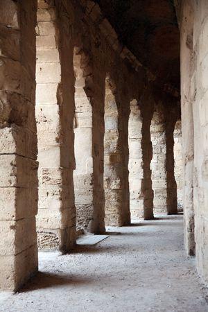 amphitheater: The amphitheater in El-Jem, Tunisia