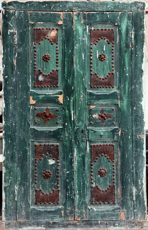 An oriental entrance in Tunisia photo