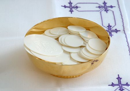 Communion bread photo