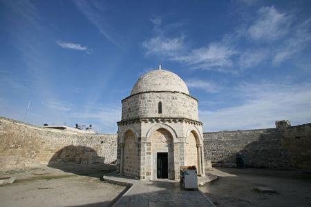holy land: Chapel of the Ascension of Jesus Christ, Jerusalem