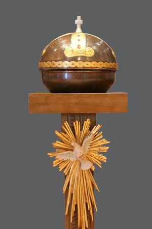 baptismal: Baptismal font in the catholic church