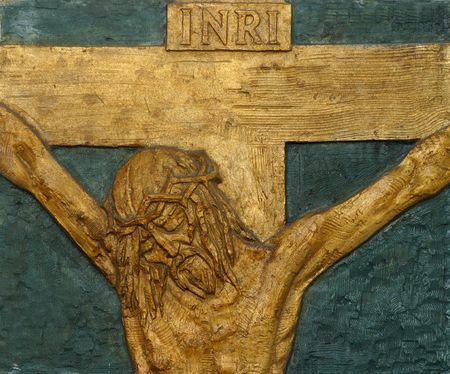 12th Station of the Cross - Jesus dies on the cross photo