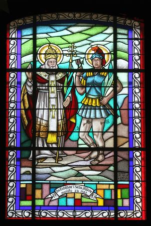 Saint Fabian and San Sebastian Stock Photo - 6514173