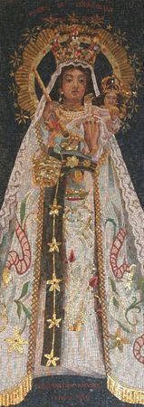 Icon of Madonna. Gift from Bolivia to Basilica of the Annunciation