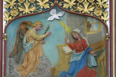 The Annunciation Stock Photo - 10004975
