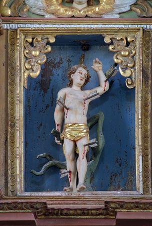 Saint Sebastian Stock Photo - 6580473
