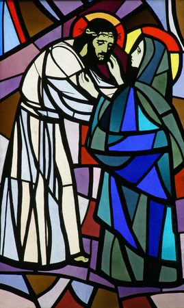 dolorosa: 4th Stations of the Cross, Jesus meets His Mother