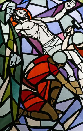 crucis: 11th Stations of the Cross, Crucifixion: Jesus is nailed to the cross