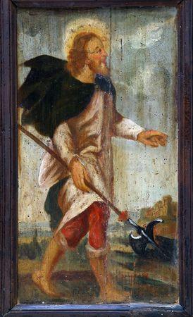 Saint Thomas the Apostle Stock Photo - 6580478