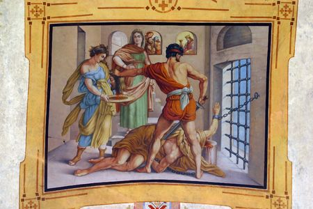 beheading: The Beheading of Saint John the Baptist