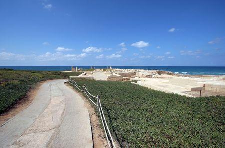 Ancient city Caesarea from Israel Stock Photo - 6618590