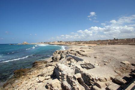 caesarea: Ancient city Caesarea from Israel