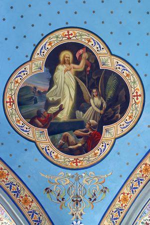 chapel catholic: Risen Christ