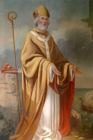 saint: Saint Nicholas Editorial