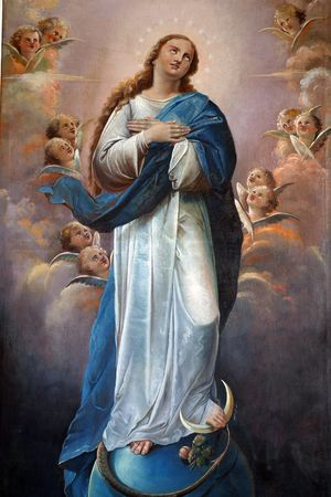 confession: Blessed Virgin Mary
