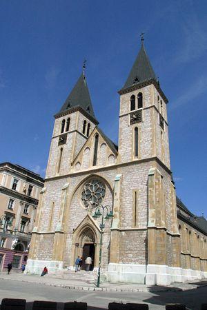 Sarajevo cathedral photo
