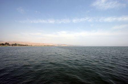 galilee: Sea of Galilee Stock Photo
