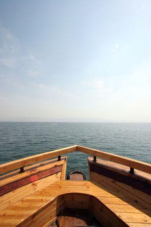 galilee: Boat on the Sea of Galilee