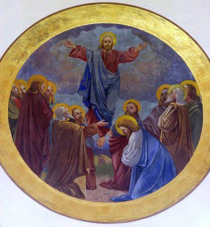 Ascensión de Cristo Foto de archivo - 10004921