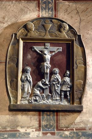 homily: Crucifixion