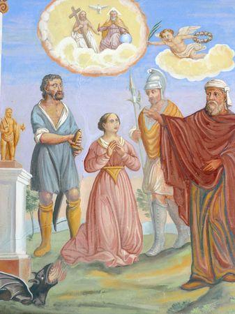 Saint Catherine of Alexandria Stock Photo - 10004922