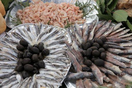 Salted sardines  Stock Photo - 8012536