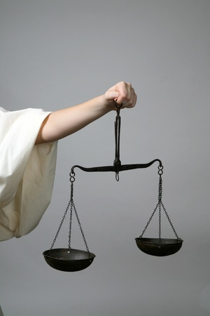blind justice: Lady Justice