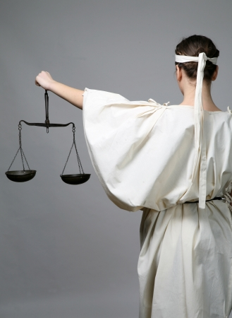 high scale: Lady Justice