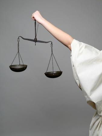 justitia: Justicia de Lady Foto de archivo