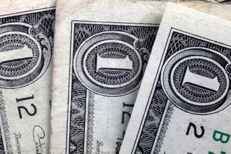 Dollar banknotes photo