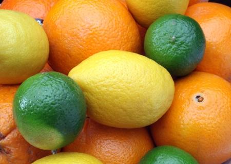 bitter orange: Citruses: lime, lemon and orange