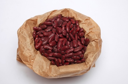 Sacks with beans  photo
