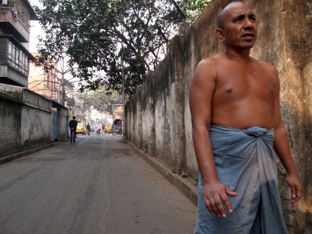 KOLKATA, INDIA -JANUARY 23: Streets of Kolkata, January 23, 2009.