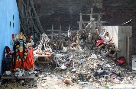 Diosa hind� Durga Foto de archivo - 10693762