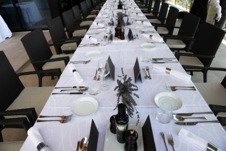 Table decoration photo