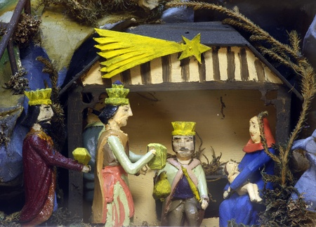 JASTREBARSKO, CROATIA - DEC 17: Exhibition of Christmas mangers on Dec 17, 2011 in Jastrebarsko, Croatia