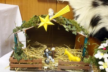 JASTREBARSKO, CROATIA - DEC 17: Nativity Scene, Exhibition of Christmas mangers on Dec 17, 2011 in Jastrebarsko, Croatia