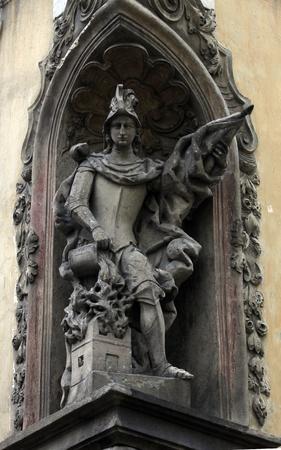patron: Saint Florian, patron of firemen