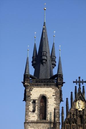 Church of Virgin Maria Before Tyn, Prague, Czech republic photo