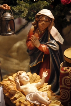 saint joseph: Nativity scene from Vienna shop