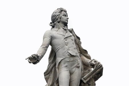 Statue of Mozart in Vienna, Austria Stock Photo - 14404197